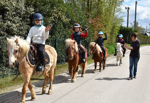 la chaumière aux poneys eure Normandie