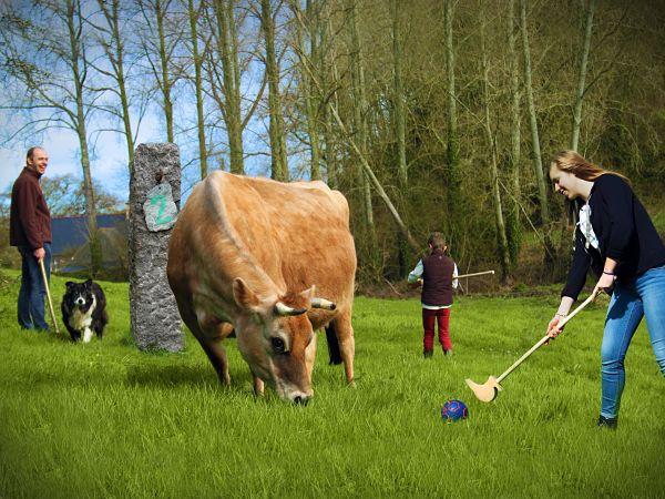 golf paysan Flamanville Manche