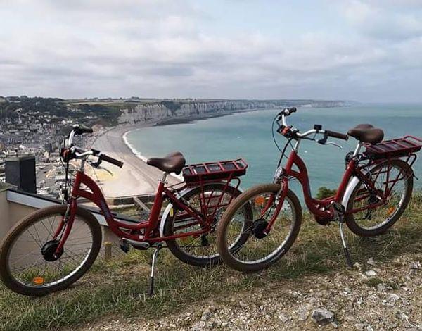 coffee bike fecamp normandie